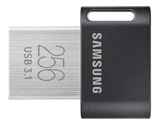 Memoria Usb 256gb Samsung Fit-plus 3.1 4k Uhd 300 Mb/s