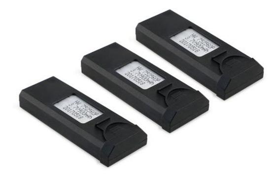 3 Baterias Drone Visuo Xs809hw 900mah 3.7v Super Promoção