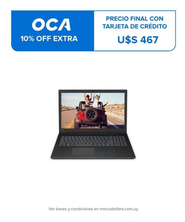 Notebook Nuevo Lenovo V145-15ast Black A6 1tb 4gb 15.6