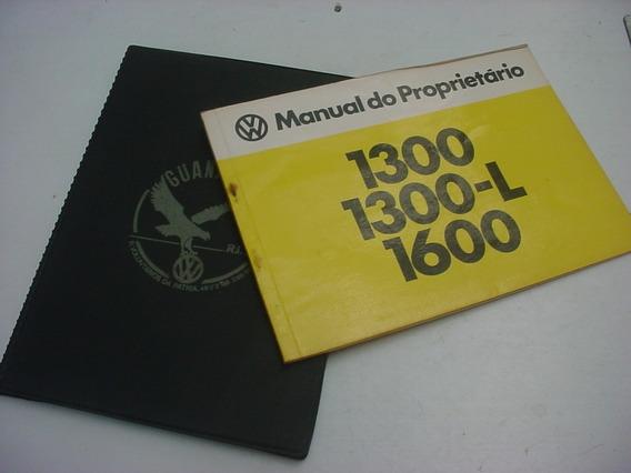 Manual Original Vw Fusca 80 1980 Novissimo C Capa Da Revenda