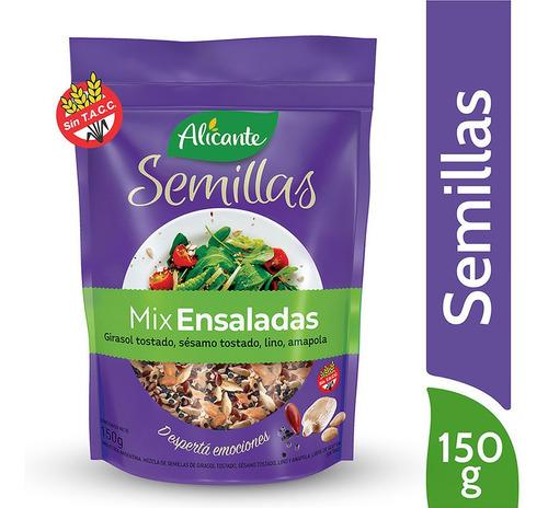 Alicante Semillas Mix Ensaladas X 150 Gr