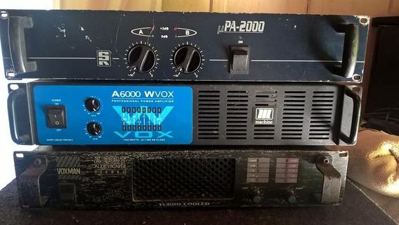 Amplificador Potência Wvox A6000