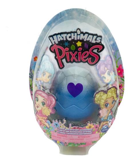 Hatchimals Pixies 1 Hada Con Accesorios Azul Spin Master