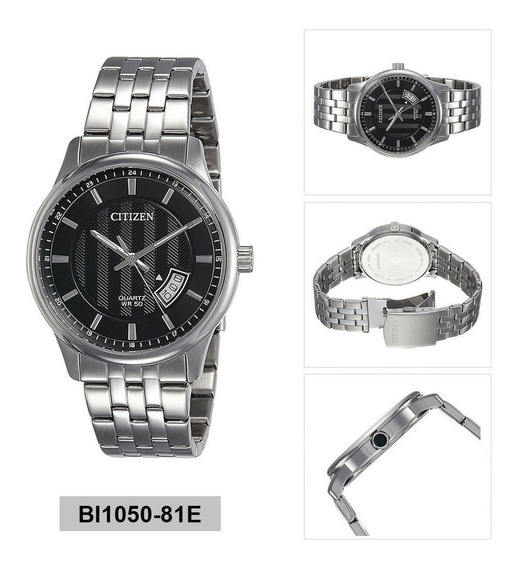 Relógio Pulseira De Aço Citizen Quartzo Ana-digi Bi1050-81e