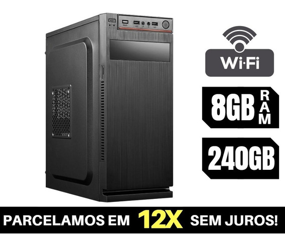 Cpu Barata Core I5 8gb Ram 240gb Ssd + Garantia