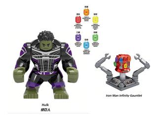 Hulk Con Guantelete Del Infinito Avengers End Game Armable