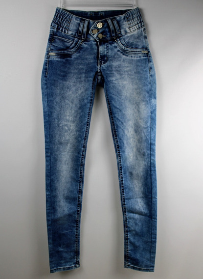 Calça Jeans Delavê Sawary Tamanho 36 Feminina