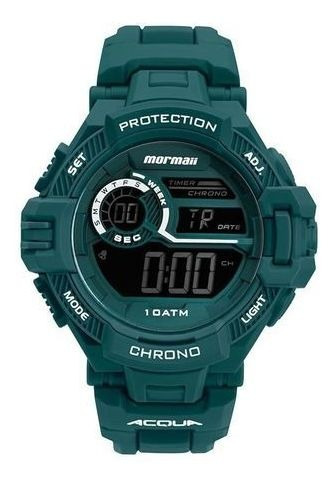 Relógio Mormaii Verde Masculino Mo1134aa/8v