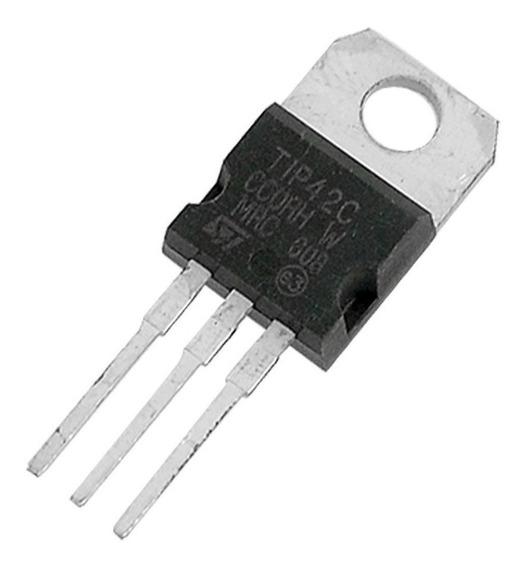 5 Unidades Tip42c Transistor Tip 42c Tip42c Pnp 100v 6a