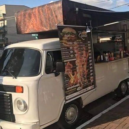 Food Truck Lindo! Pronto Para Trabalhar