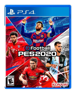 Juego Pro Evolution Soccer Pes 2020 Ps4
