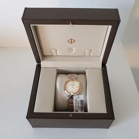 Relógio Baume & Mercier Feminino Aço Prateado E Rosé