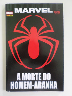 Hq Gibi Ultimate Marvel 25 A Morte Do Homem Aranha