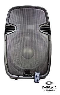Bafle Potenciado Tecshow Ampro Bam-1500a 450w Usb Bluetooth