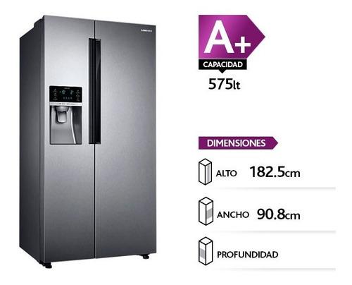 Refrigerador Samsung Rs58k6307sl Side By Side
