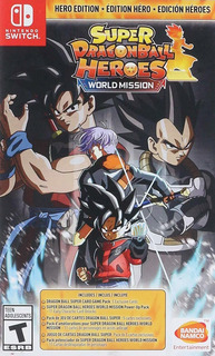 Super Dragon Ball Heroes: World Mission Hero Edition N...