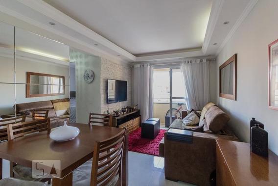Apartamento No 1º Andar Mobiliado Com 2 Dormitórios E 1 Garagem - Id: 892949155 - 249155