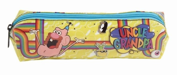 Kit Com 4 Estojos Escolar Soft Uncle Grandpa 11238