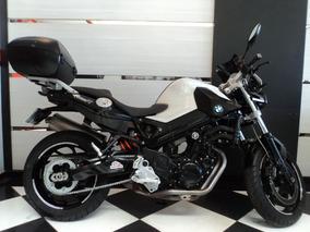 Bmw F800 R Branca 2012