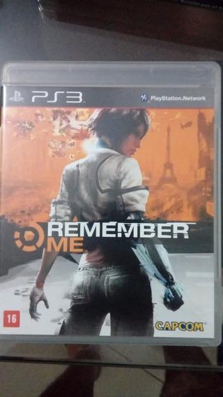 Games Jogos Ps3 Play3 Usado Remenber Me