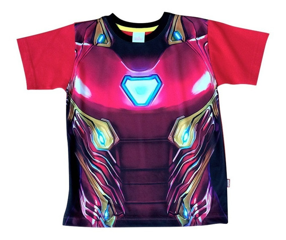 Playera Armadura Iron Man De Marvel Official