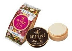 Crema Arche Polvo De Perlas Manchas Blanquea Acne 5 Pzs