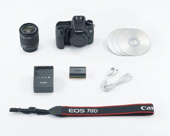 Canon Eos 70d + Acessórios