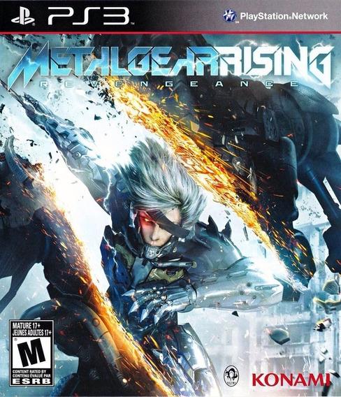 Jogo Metal Gear Rising Revengeance Ps3 Playstation 3 Lacrado