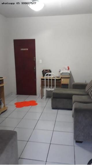Apartamento/usado Para Venda Em Cuiabá, Alvorada, 2 Dormitórios, 1 Banheiro - 504_1-1433499