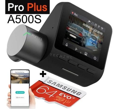 Imagem 1 de 10 de Camera Segurança Filmadora Veicular Xiaomi Pro + Gps + 64gb