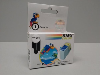 Cartucho Max Color C13t050140 T0501 Epson X10 Unid Epson 400