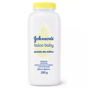 Talco Johnsons Baby Amido De Milho 200g