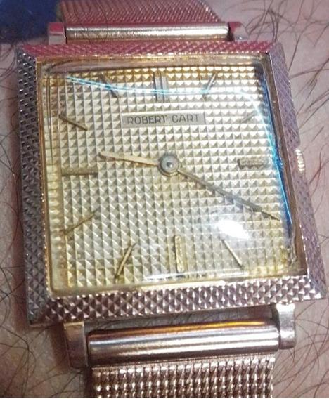 Relógio Robert Cart Suíço A Corda Antigo Vintage