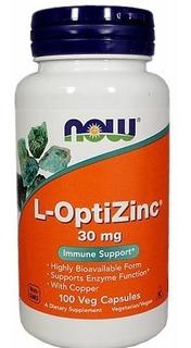 L-optizinc 30mg 100caps. Now® Espinha Acne Hipertrofia Zinco