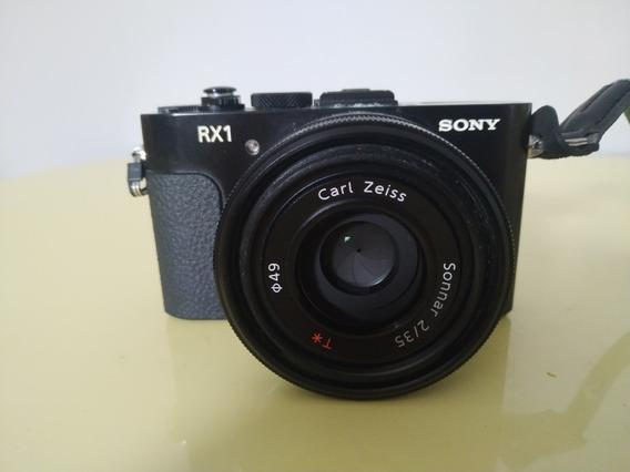 Câmera Sony Rx1 Lente Zeiss 35mm Tipo Sony A7