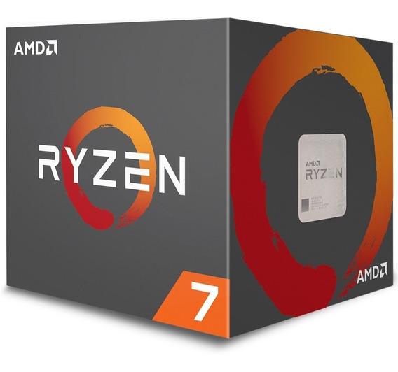Processador Amd Ryzen 7 2700x - (am4 - 8 Núcleos 3.7ghz) - Yd270xbgafbox
