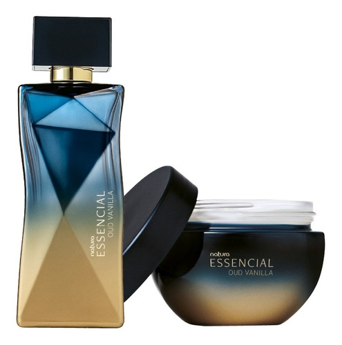 Kit Perfume + Creme Essencial Oud Vanilla Feminino Natura