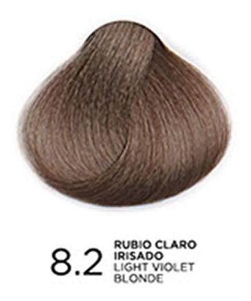 Tono 8.2 Rubio Claro Irisado, Tratamiento En Coloración Bp