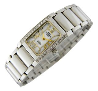Reloj Montreal Mujer 100% Acero Ml189 Envío Gratis