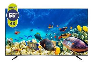 Televisor Led Smart 55` Hitachi 4k Le554ksmart16-aj Hogar