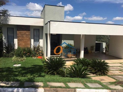 Casa Com 3 Dormitórios À Venda, 269 M² Por R$ 1.500.000 - Condomínio Serra Da Estrela - Atibaia/sp - Ca0226