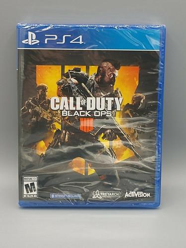 Call Of Duty Black Ops 4 Playstation4 Fisico Disco Nuevos