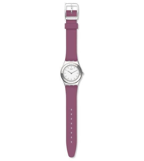 Relógio Swatch Girl Dream Yls204 Silicone Vinho Original