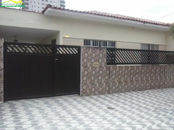 Casa No Canto Do Forte, 2 Dormitórios, Quintal, Confira Somente Na Imobiliária Em Praia Grande. - Mp5039
