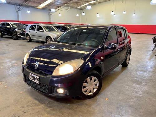 Renault Sandero 1.6 16v Confort 2011 Gnc! $430.000 Y Cuotas!