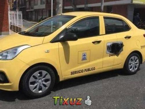Taxi Hyundai Grand I10 Modelo 2016 Con Gas