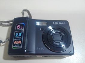 Câmera Digital Samsung S630 + Cartão 2gb + Maleta+carregador
