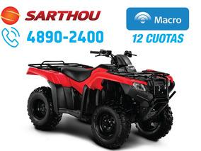 Honda Trx 420 Tm 4x2 Parrillero Caja Manual 0km 2018 Sarthou