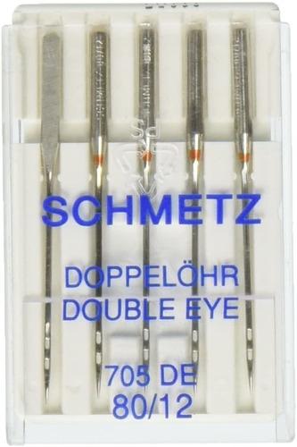 Doble Ojo Maquina Needles-size 80/125/pkg