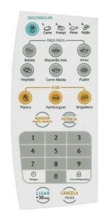 Membrana Teclado Forno Microondas Electrolux Mef 28 / Mef28